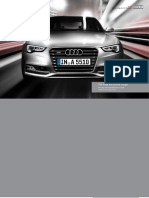 Audi A5 & S5 Coupe Catalogue (UK)