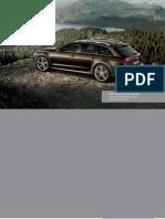 Audi A6 allroad Catalogue