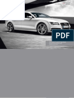 Audi A7 Sportback & S7 Sportback Catalogue (UK)