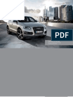 Audi Q5 & SQ5 Catalogue (UK)