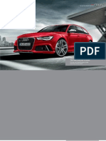 Audi RS 6 Avant Catalogue (UK)
