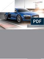 Audi R8 Coupe & Roadster Catalogue (UK)