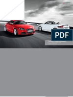 Audi TT Coupe & Roadster Catalogue (UK)