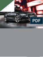 Audi RS 7 Sportback Catalogue (UK)