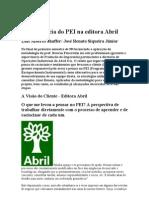 A experiência do PEI na editora Abri1
