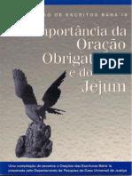 Importância da Oração Obrigatória e do Jejum, A.pdf