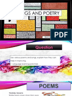 Presentation Songs and Poetry Tutorial 3