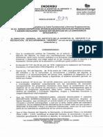Resolución 026 de 2014
