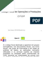 Explicação Código Fiscal de Operação e Prestação - CFOP