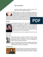 BIOGRAFIAS DE  PINTORES SALVADOREÑO1