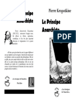 Le Principe Anarchiste 24p NB Cahier