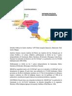 Division Politica de Centroamerica