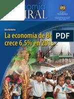 Economía Plural La economía de Bolivia crece 6,5% en 2013