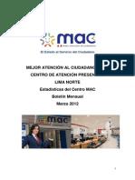 Presentacion de Atenciones Centro MAC a Marzo 2012