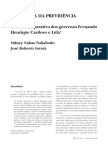 a reforma da previdência no brasil