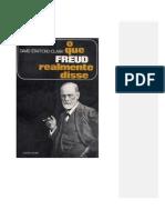 Freud e a Sexualidade_David Stafford-Clark