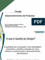 Quality by Design Uma Nova Perspectiva Para a Industria Farmaceutica_Dr. Gabriel Araujo