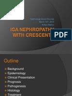 Crescentic IgA Nephropathy[1][1]
