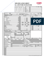 SI Unit Spec Sheet