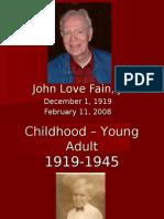 John Love Fain, Jr