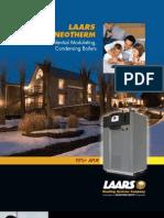 Laars NeoTherm Residential HIgh Efficiency Condensing Gas Fired Hot Water Boiler Brochure
