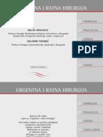Urgentna i Ratna Hirurgija,Knjiga