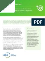 Marketing Management QCF Flyer
