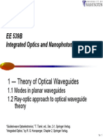 Theory of Optical Waveguides-A