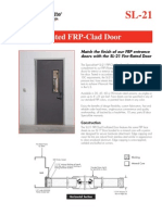 Special-Lite Fire-Rated FRP-Clad Fire Door Sales Sheet