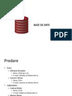 0. Baze de Date-Intro