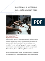 Cárceles mexicanas articulo proceso