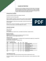 Pathfinder - Classes de Prestigio [Beta]