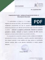 Circulara Naveta Cadre Didactice