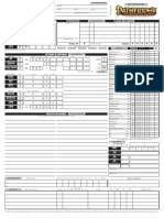 Blank Pathfinder PDF