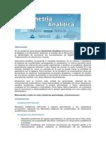 Geomentria Analitica