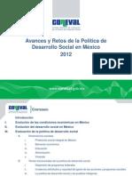 Avances y Retos de la Polìtica social de México