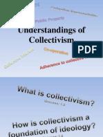 understandings of collectivism
