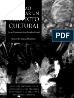 Cómo hacer un proyecto cultural