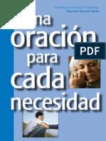 Prayer Every Need Spanish