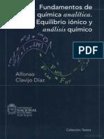 Fundamentos de química analítica equilibrio iónico y análisis químico