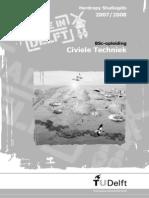 BSc Civiele Techniek Studiegids TU Delft 2007-2008