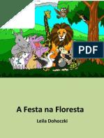 Festa na floresta - Poesia de Leila Dohoczki