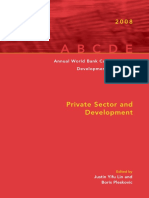 Annual World Bank Conference on Development Economics 2008, Global