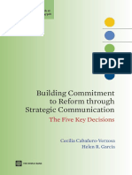 Building Commitment to Reform through Strategic Communication
