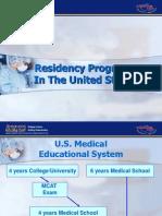 Residency programs in the USA
