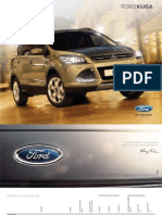 Ford Kuga Broschuere MY 2012