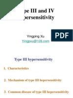 Type III and IV Hypersensitivity