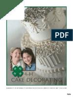 4 h Cake Decorating