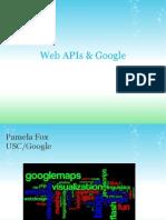 Web APIs & Google APIs