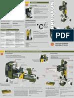 Proxxon Pd400cnc English